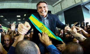 President-elect Jair Bolsonaro, who takes power on 1 January, is famed for his loathing off Venezuela's leader, Nicolás Maduro.