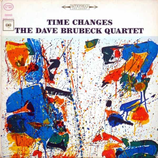 Dave Brubeck album cover Sam Francis