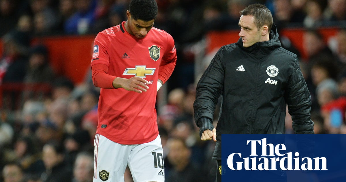Manchester United's Marcus Rashford faces fitness fight for Liverpool trip