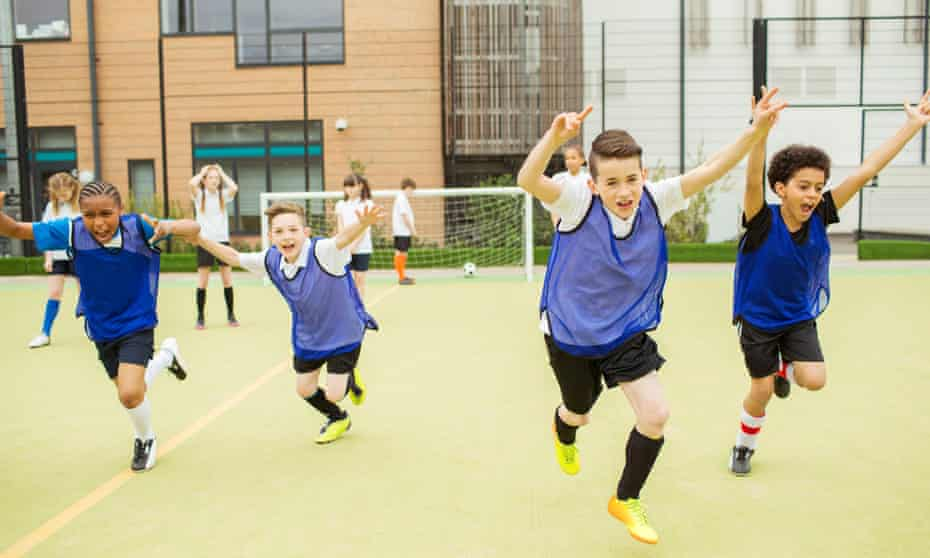 Schools now spend less time on PE, despite the London 2012 boost celebrated by David Cameron