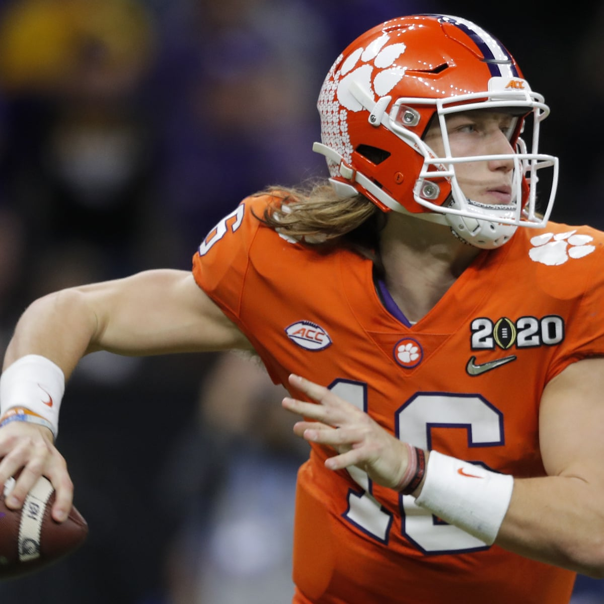 Trevor Lawrence: College football's biggest star tests positive for  Covid-19 | College football | The Guardian