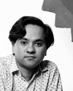 a young Anish Kapoor