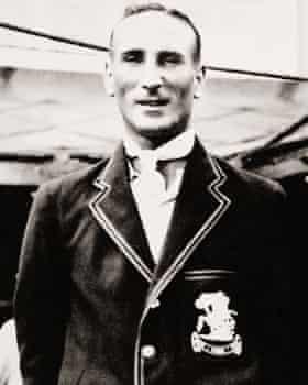 England captain Douglas Jardine in 1934.