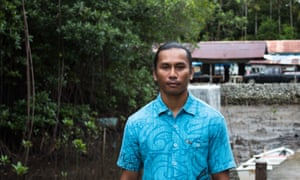 Xavier Matsutaro, the national climate change coordinator for Palau.