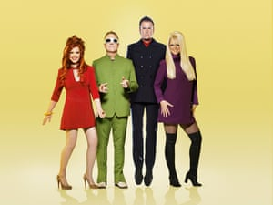 The B-52s around the time of the 2008 album Funplex.