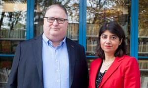 Kevin Prunty and Seema Malhotra