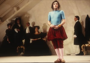 La Bête, 1992Alan Cumming in David Hirson's play, directed by Richard Jones.