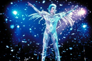 Jonathan Rhys Meyers in 1998's Velvet Goldmine, which had to be recut when David Bowie refused the use of his original songs.