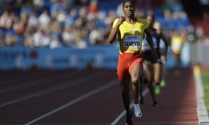 Caster Semenya in action at the IAAF track and field Continental Cup in Ostrava, Czech Republic in September, 2018