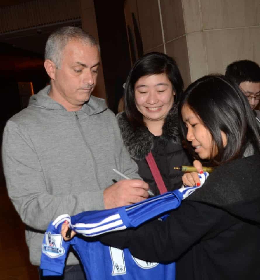 José Mourinho in Shanghai earlier this week.