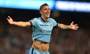 Stevan Jovetic will initially join Internazionale on loan from Manchester City.