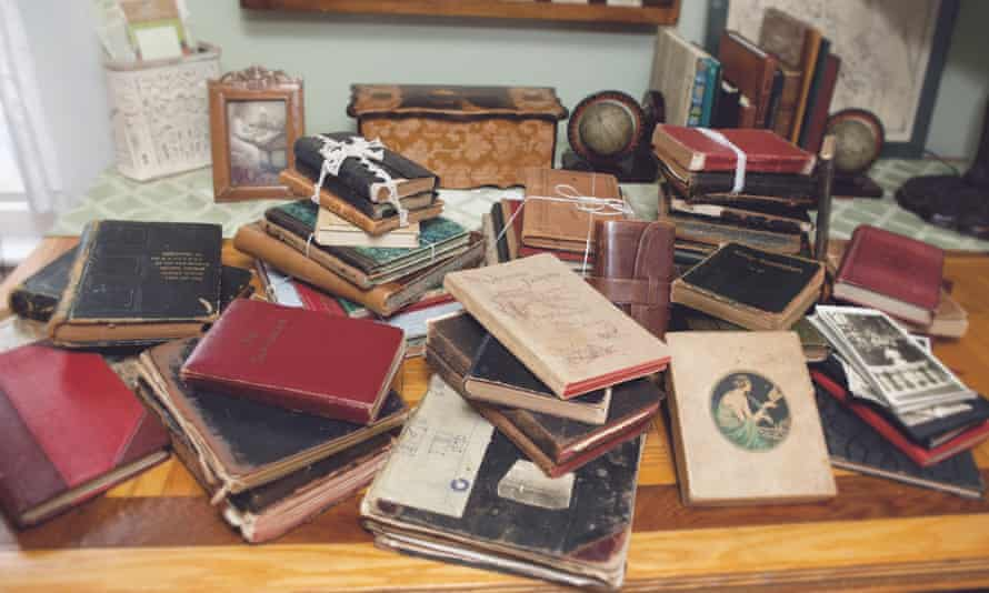 'You can be blown away': bundles of old diaries can be picked up at jumble sales and car-boot sales.