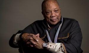 ARCHIVO - En esta fotografía de archivo del 23 de septiembre de 2014, el productor Quincy Jones, del documental