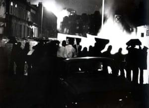 The Brixton riots, London, April 1981.