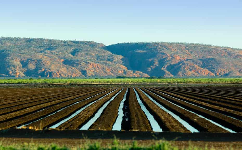 A water irrigation system in Kununurra, Western Australia. Farmers, particularly, irrigators are large energy users.
