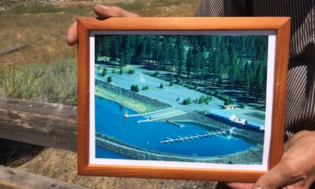 A photo of the Eagle Lake marina in better days.
