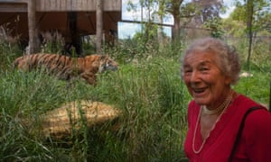 Judith Kerr at London Zoo to receive her lifetime achievement award from BookTrust.