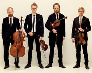 A little too polished? … the Danish String Quartet