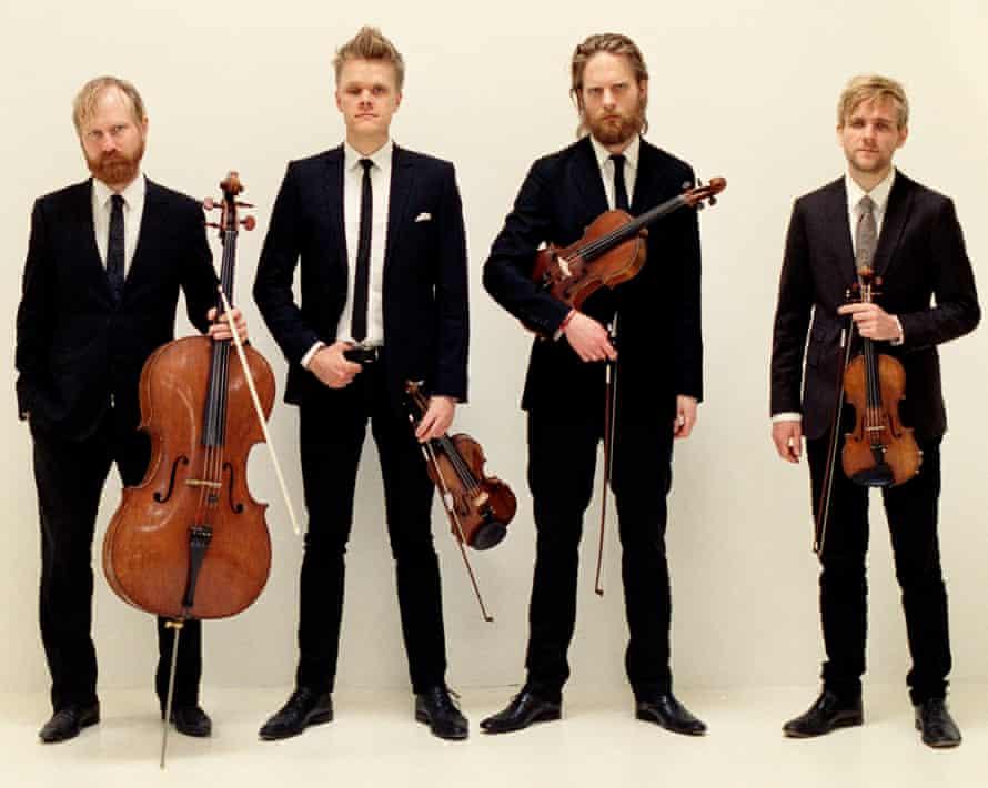 A little too polished? … the Danish String Quartet