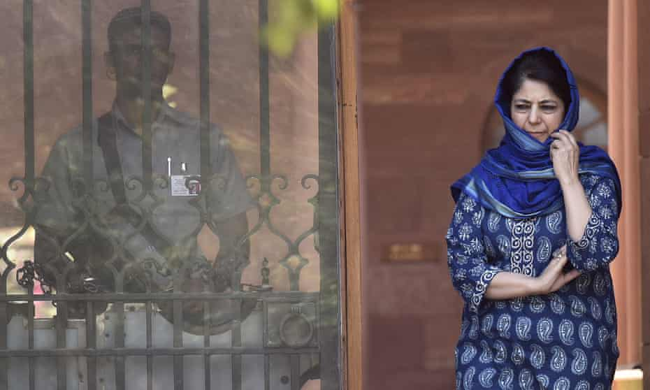 Mehbooba Mufti, chief minister of Jammu and Kashmir
