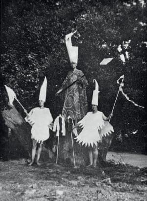 The Slaying of Summer seasonal ceremony, Gleemote, c.1929