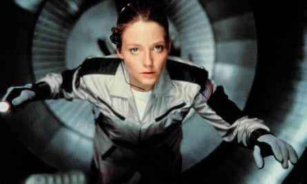 Jodie Foster in Contact, 1997.