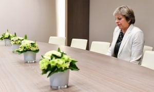 The British prime minister, Theresa May