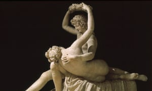 Canova's Venus Crowning Adonis, 1789.