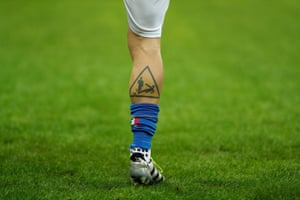 Italy's Daniele De Rossi's tattoo