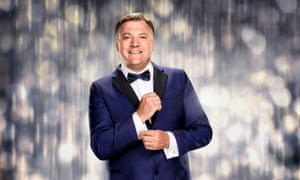 Ed Balls on Strictly Come Dancing 2016.