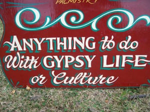A traditional gypsy sign.