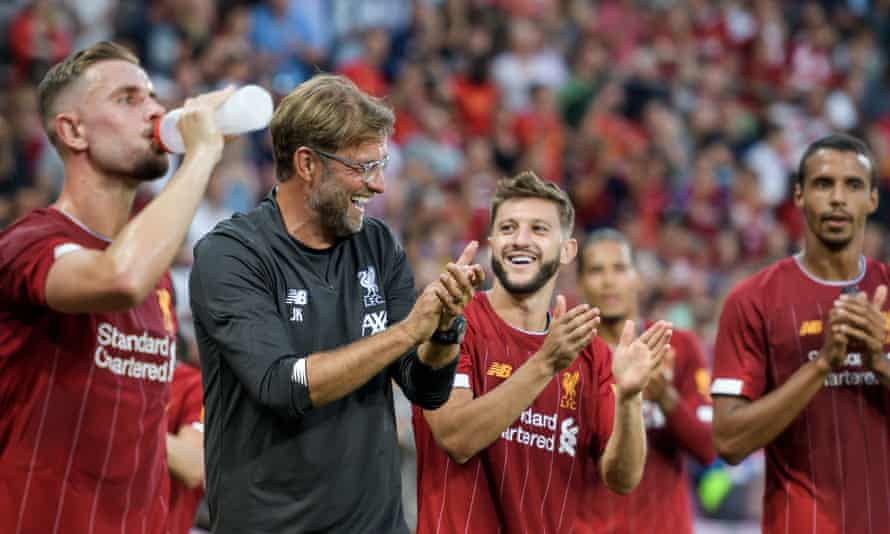 Jürgen Klopp is not worried about his squad despite a lack of major signings this summer.