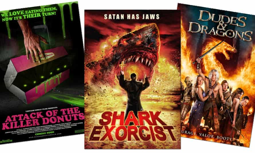 Probably not coming to a cinema near you soon … Attack of the Killer Donuts, Shark Exorcist and Dudes & Dragons.