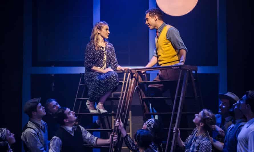 Gary Tushaw (Joe) and Emily Bull (Jennie) in Allegro