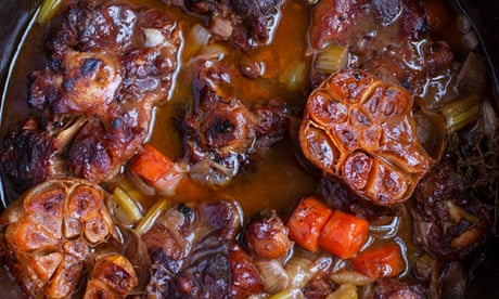 Nigel Slater's oxtail stew and trimmings recipes