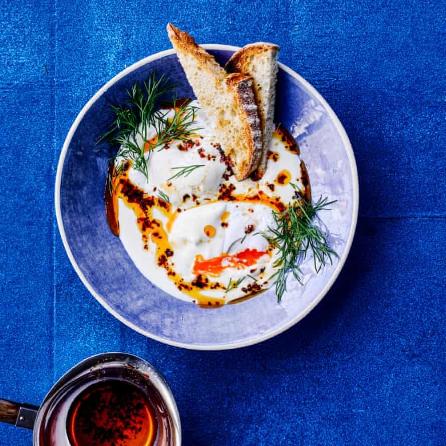 Peter Gordon's Turkish eggs