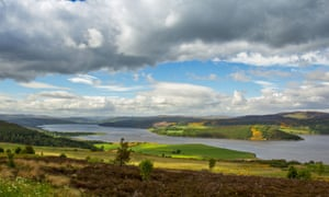 Dornoch Firth, near the site of a proposed new golf course.