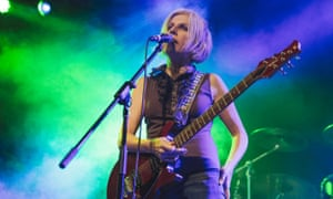 Tanya Donelly of Belly at Leeds University on 16 July.