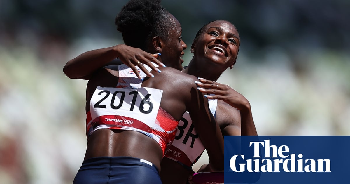 Dina Asher-Smith targets relay redemption as Britain run fastest Olympic heat in history