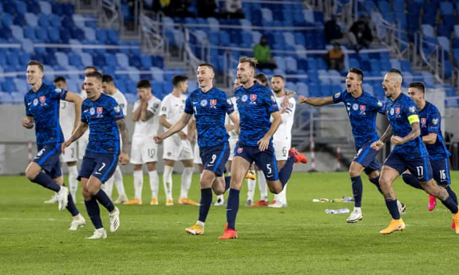 Slovakia spoiled Irish hopes in the play-offs, beating the Republic in the semi-finals and Northern Ireland in the final.
