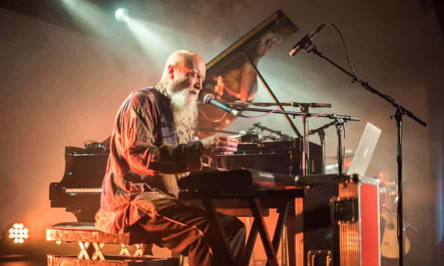 Terry Riley performing at Oval Space, London.