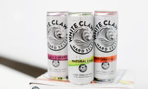 White Claw sales have surged 320% from last year. Photograph: Richard Levine/Alamy