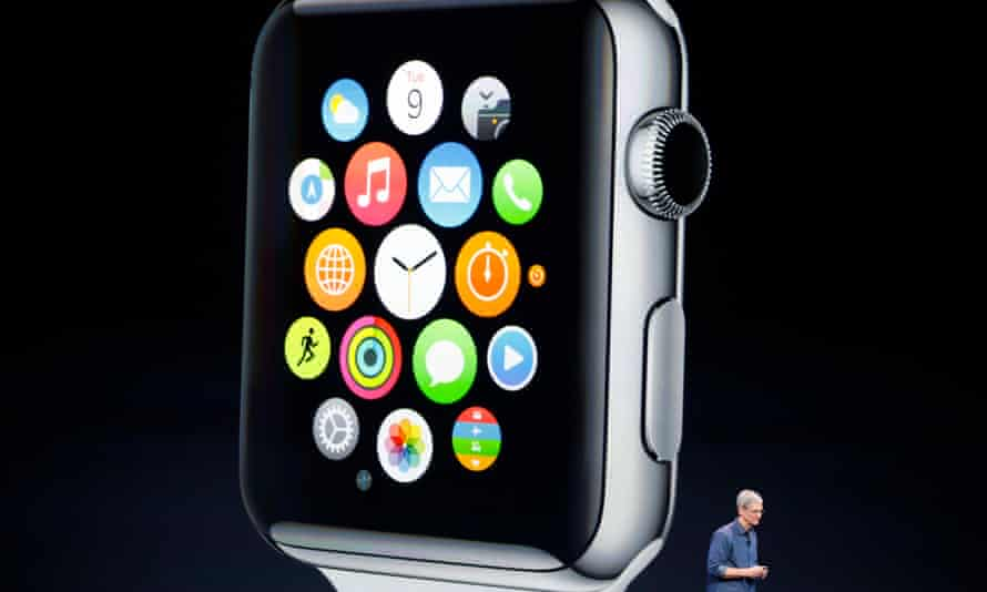 Apple CEO Tim Cook speaking about the Apple Watch
