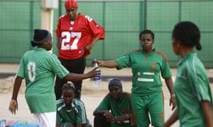 Sudan's female footballers