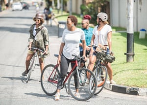 A FixinDiaries cycle ride in Soweto, Johannesburg