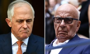 Former Australian prime minister Malcolm Turnbull believes Rupert Murdoch played a role in his demise.