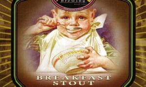 Founders Brewing Co breakfast stout label
