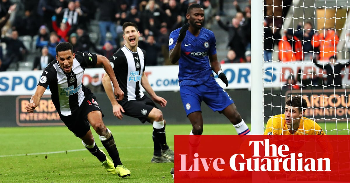Newcastle United 1-0 Chelsea: Premier League – as it happened