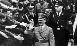 Adolf Hitler gets an ecstatic reception at the Olympic Stadium, Berlin, on 1 May 1939.