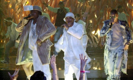 So Solid Crew at the Brits in 2002.